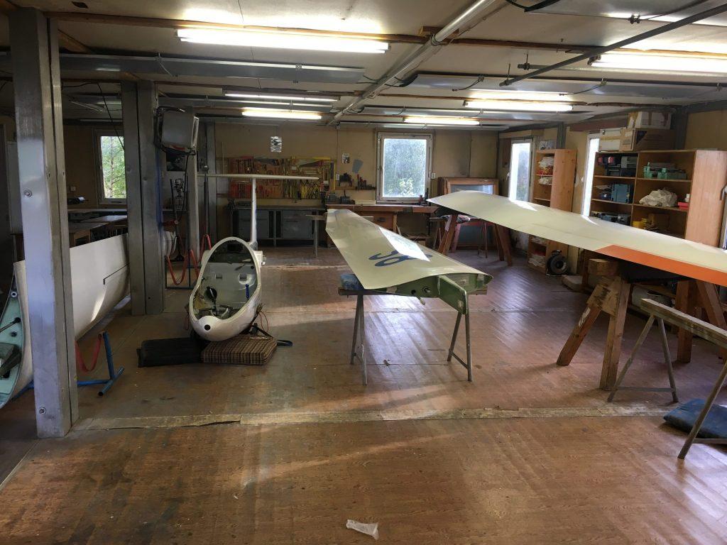 Unsere DG in der Werkstatt in Langhennersdorf